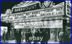 1950's Theatre Lamp Light Art Deco Film Antique Major Strand Eames Movie Tripod