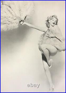 1958 Vintage MARILYN MONROE FEATHERS FAN Film Theatre 16x20 By RICHARD AVEDON