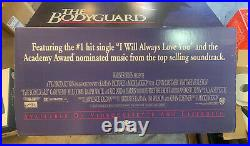1992 THE BODYGUARD Full Carboard Theater Display, WHITNEY HOUSTON, KEVIN COSTNER