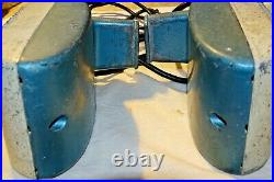 2 Working RCA Drive-in Movie Speakers Aqua Blue Drive In's Brand Tested