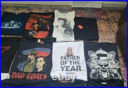 22 Shirt Lot Movie Premiere Tv Promo Theatre Lot Rare Vintage