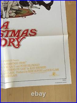 A Christmas Story Original One Sheet Movie Poster 1983 Bob Clark