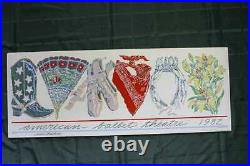 American Ballet Theatre Signed by Baryshnikov (1982) 17.5 x 46 US Theater