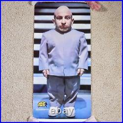 Austin Powers Mini Me Original Movie Poster 3FT Theater Lobby Verne Troyer VTG