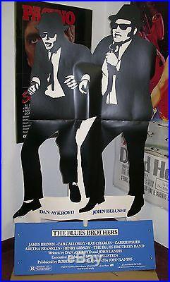 BLUES BROTHERS JOHN BELUSHI CineMasterpieces MOVIE THEATER STANDEE 1980