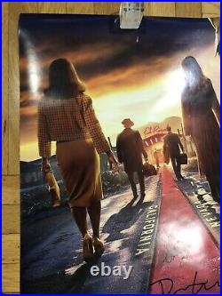 Bad Times at the El Royale 27x40 Theater Poster Signed By Drew, Cynthia + Cailee