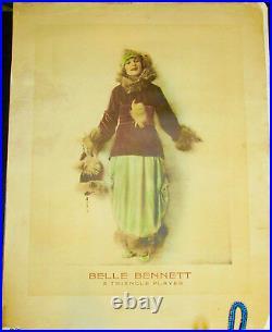 Belle Bennett!'24 Original Theatre Lobby Promotional Film Poster