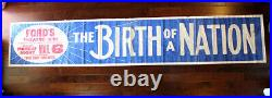 Birth Of A Nation Ford's Theatre (1913) 159 x 28.75 US Banner