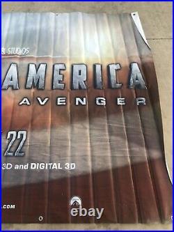 Captain America The First Avenger Huge Vinyl Movie Theater Banner 10 x 5