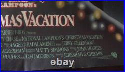 Christmas Vacation 27x40 Original Theater Double Sided Movie Poster