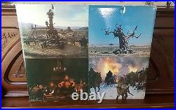 Conan The Barbarian Movie Theater Lobby Standee Promo Promotional Cardboard 1981