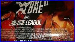 DC ZACK SNYDER CUT JUSTICE LEAGUE 27x40 DS Original Theater Poster BATMAN JOKER