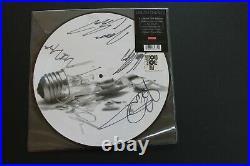 DREAM THEATER ILLUMINATION THEORY signed vinyl picture disc album
