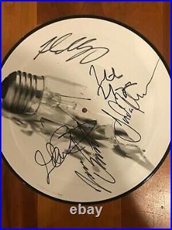 DREAM THEATER signed vinyl picture disc album ILLUMINATION THEORY 2