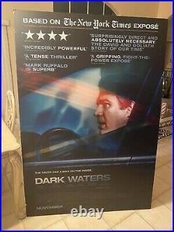 Dark Waters Movie Theater Standee Display Movie Poster Display Mark Ruffalo