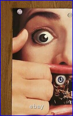Dead Alive RARE Original 1992 One Sheet Movie Theater Poster Vtg 90s Horror Gore
