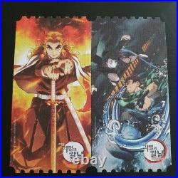 Demon Slayer Korea Mega Box Original Cinema Limited Movie Special Ticket Theater