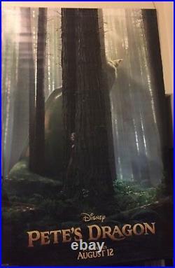 Disney BFG & Pete's Dragon 8ftx5ft Movie Theater Vinyl 2 Sided Authentic Regal