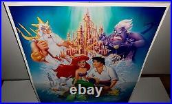Disney THE LITTLE MERMAID Original RARE Movie Theatre Lobby Standee UNUSED MIB