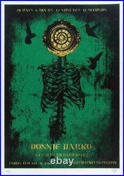 Donnie Darko Silkscreen Movie Poster Castro Theatre David O'Daniel Alien Corset