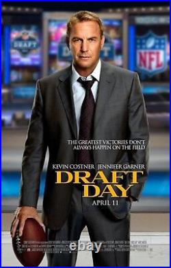 Draft Day 9ftx6ft Movie Theater Vinyl 1 Sided Authentic Regal Cinema