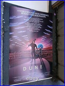Dune 1984 David Lynch Movie Theatre Standee Sting Toto Nmint Box Rare Clean Vtg