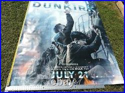 Dunkirk Authentic Movie Theatre Vinyl Banner / Poster 5x8 Life Size Man Cave