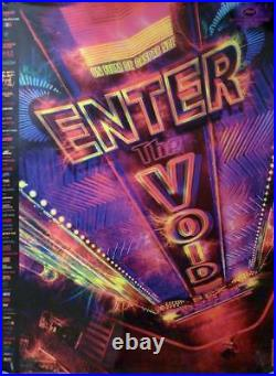 Enter The Void G. Noe / Theater Original Large French Rolled Movie Poster