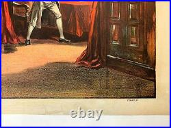 Excelsior (1883) 20 x 28.25 US Color Lithograph Theater Poster LB