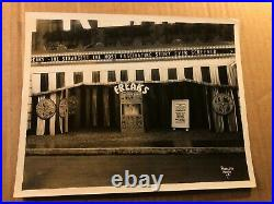 Freaks Extremely Rare Original 1932 Photo Of Movie Theater Marquee For Freaks