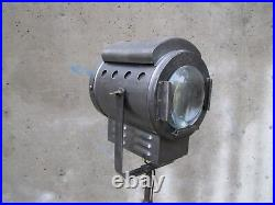 French industrial MOVIE THEATRE SPOT LIGHT FLOOR LAMP