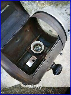 French vintage industrial lamp Cremer theatre movie spotlight spotac