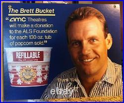 George Brett Signed Amc Movie Theaters Advertisement Kansas City Royals Hof