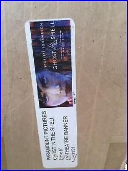 Ghost In The Shell 12ftx5ft Movie Theater Vinyl 1 Sided Authentic Regal Cinema