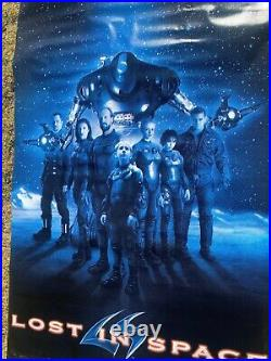 Giant Authentic 115 X 46 Theater Or Bus Stop Lost In Space Vinyl Poster