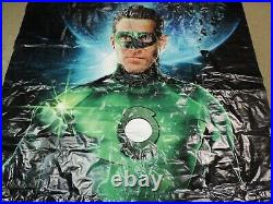Green Lantern Movie DC Comics 2011 10ft Tall 6ft Wide Movie Theater Banner RARE