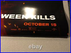 HALLOWEEN KILLS Movie Poster original 27x40 D/S one sheet