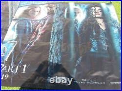 HARRY POTTER & DEATHLY HALLOWS PT 1 2010 Original 5X10' US Theater Lobby Banner