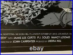 Halloween John Carpenter's Movie Theater Mylar Poster 20 x 36 Michael Myers