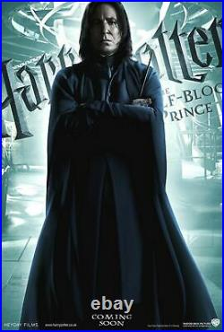 Harry Potter and the Half-Blood Prince Snape 5 x 8 Vinyl Theatre Banner DS