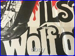 ILSA SHE WOLF OF THE SS 1974 ORIG. THEATER ISSUED POSTER 22 1/2 x 34 1/4 (VG)