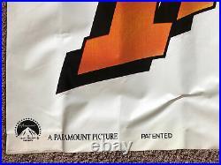 INDIANA JONES AND THE LAST CRUSADE Original Theater Banner (126 X 35) 1989