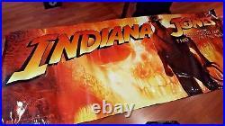 Indiana Jones Crystal Skull Original LARGE Display Banner Promo Theater Theatre
