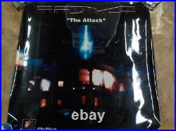 J RARE Original ID4 Independence Day Movie Theater Banner Poster Mylar set 48