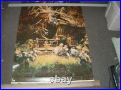 King Kong Theater Poster Large John Berkey 1976