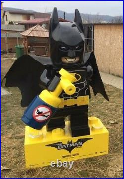 LEGO Batman Movie Theater Promotional Display Life Size Statue RARE