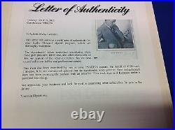 Leslie Howard Signed 1936 Hamlet Theater Program PSA/DNA LOA # M86274
