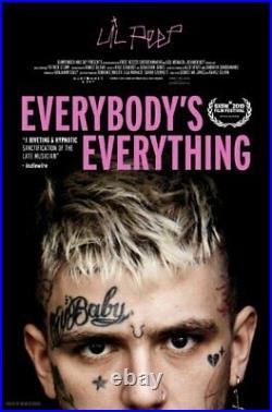Lil Peep EVERYBODYS EVERYTHING ORIGINAL Movie Theatre Poster