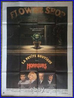 Little Shop Of Horrors Original Vintage Poster Movie Theater Promo Pin-up French