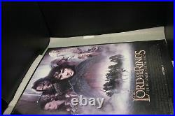 Lord of the Rings The Fellowship of the Ring 48X68 MOVIE THEATER POSTER